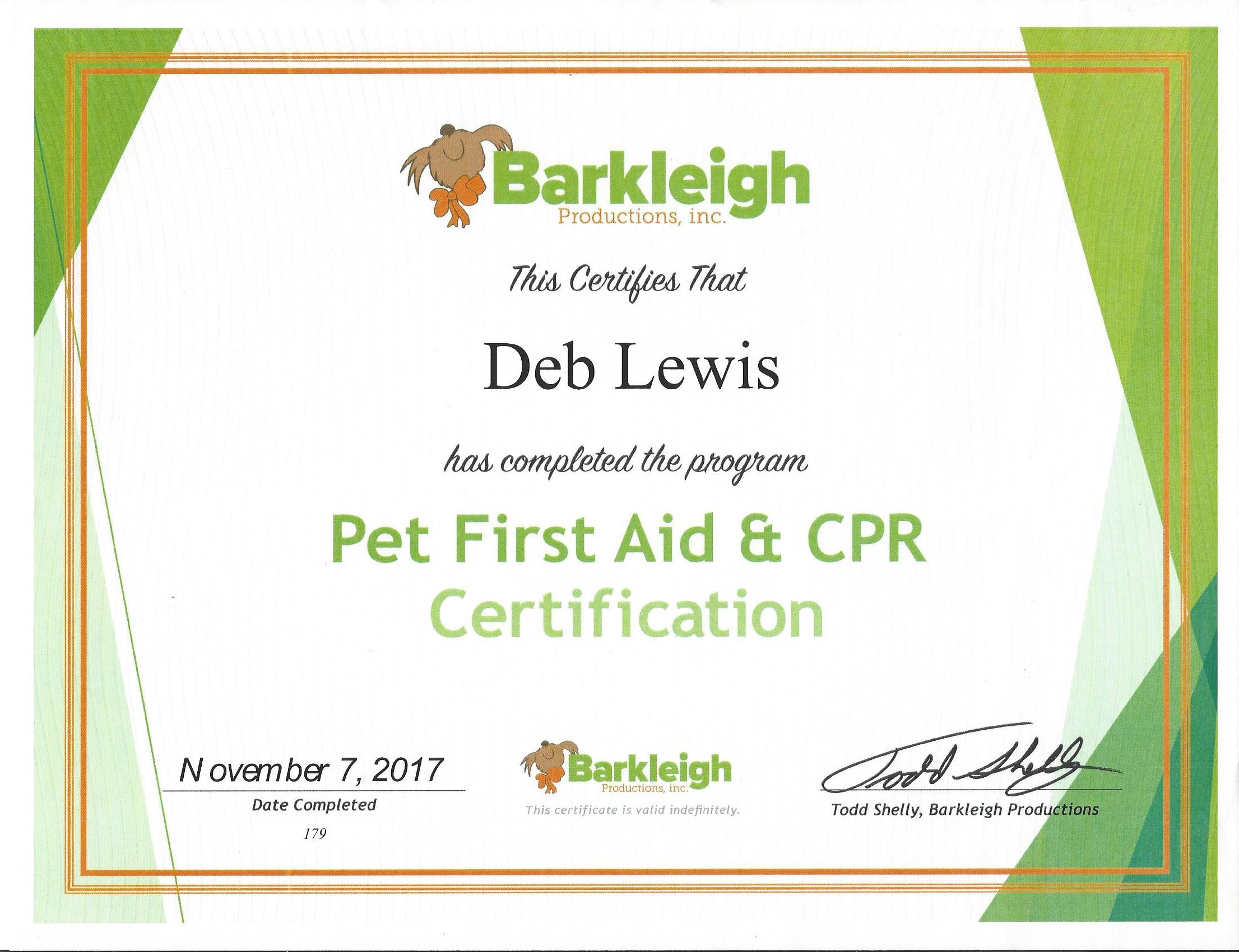 Luxury collection of pet cpr certification business cards and resume dogs bay from pet cpr certification image source dogsbay xflitez Images